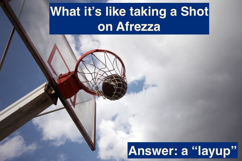 Afrezza basketball shot
